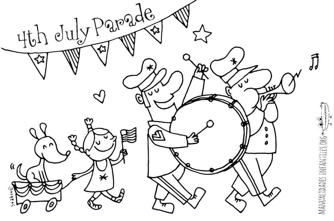 parade coloring pages - photo#27