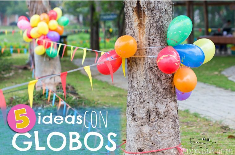 5 ideas de decoracion con globos
