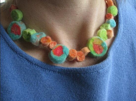 Collar De Fieltro Para Regalar A Mama Actividades Para Ninos