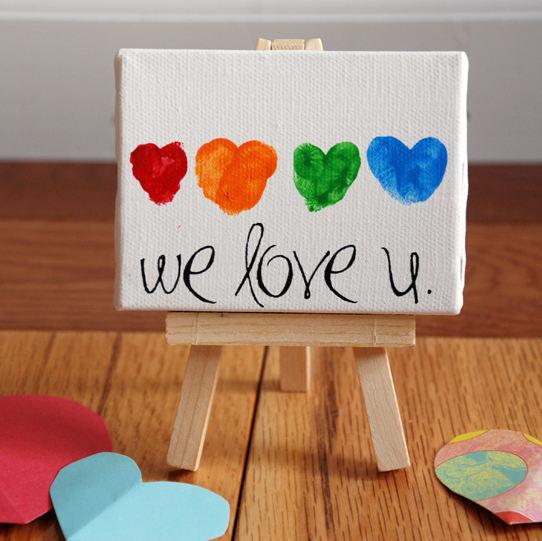 Cuadro para el Dia de los Enamorados