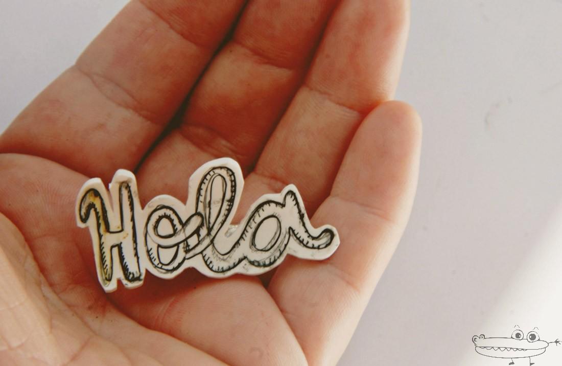 Clip de letras con plástico mágico