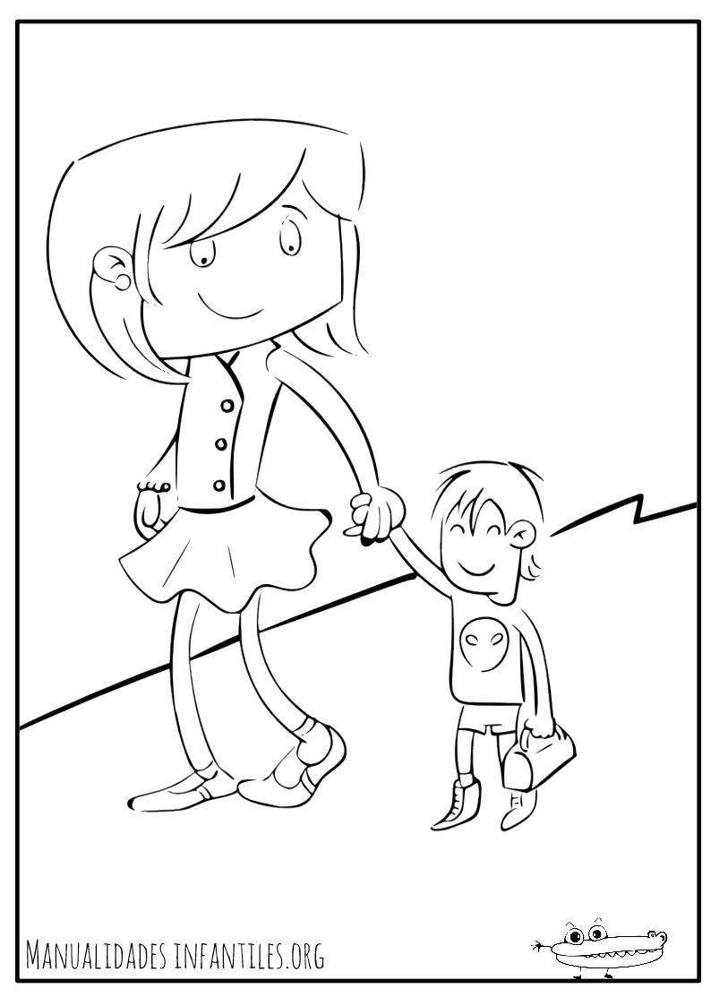 Dibujos para el Día de la Madre - Manualidades Infantiles