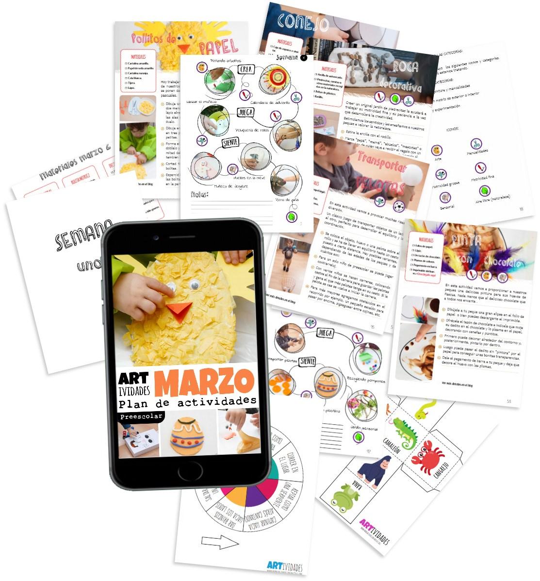 Ebook ARtividades Marzo