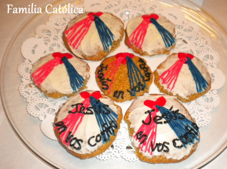 Galletas de la Divina Misericordia