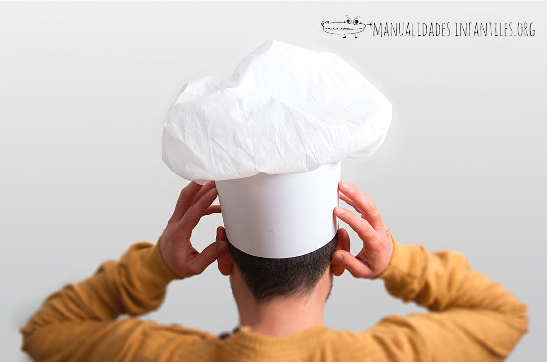 Gorro de CHEF DE PAPEL