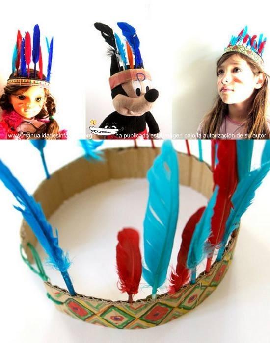 Sombrero De Indio Para Ninos