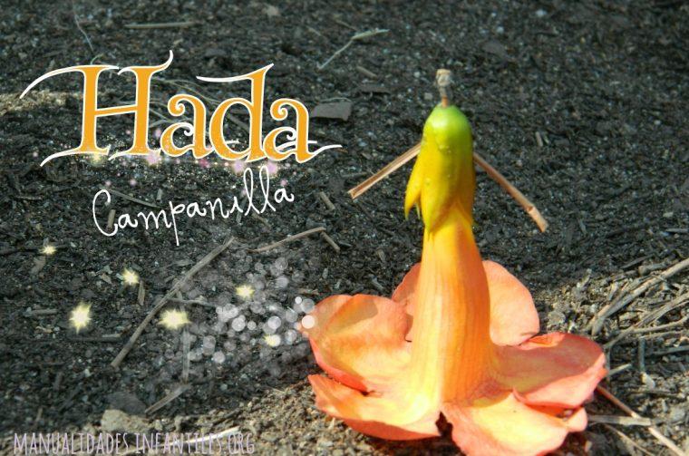 Hada Campanilla de flor