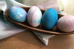 Huevos pintados preescolar