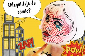 Maquillaje pop art comic