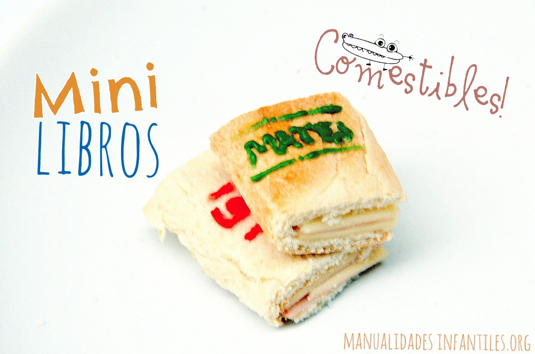 Mini libros comestibles