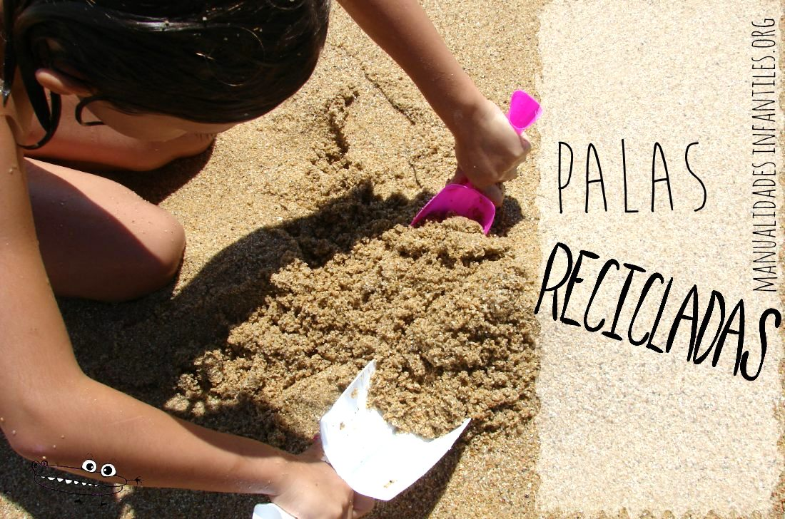 Palas de playa recicladas