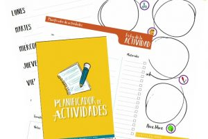 Planificador de actividades para niños