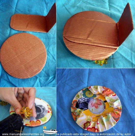 Manualidades Con CD Reciclados