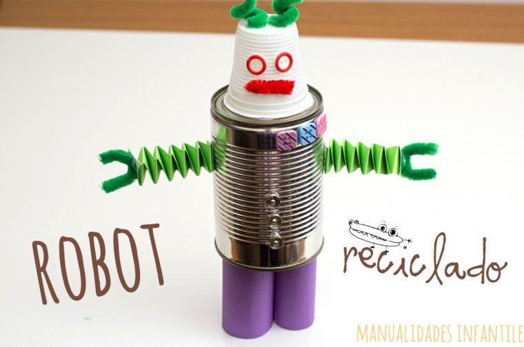 Robot reciclado