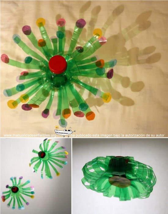 Adornos De Navidad Reciclados Con Botellas De Plástico