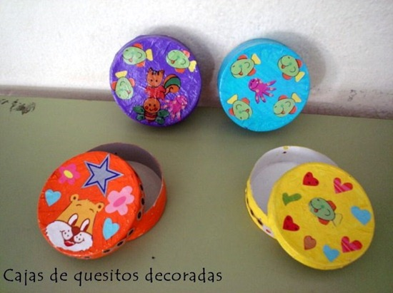 cajas quesitos pintadas
