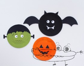 Decoracion halloween manualidades infantiles for Decoracion halloween manualidades
