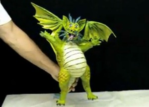 dragon papel mache  dificil