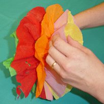 Flores de papel pinocho 4