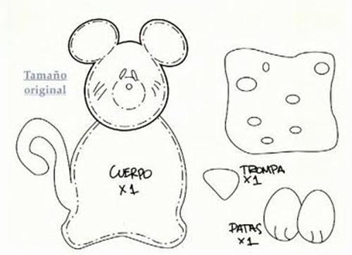 Ratones de foami - Imagui