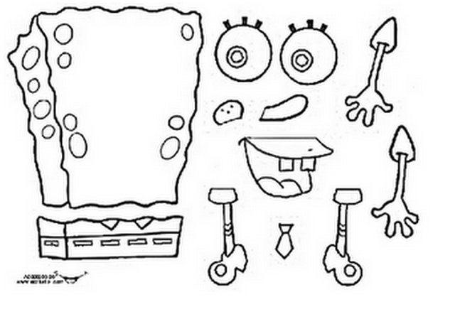 Hacer Una Marioneta De Bob Esponja Actividades Para Ninos