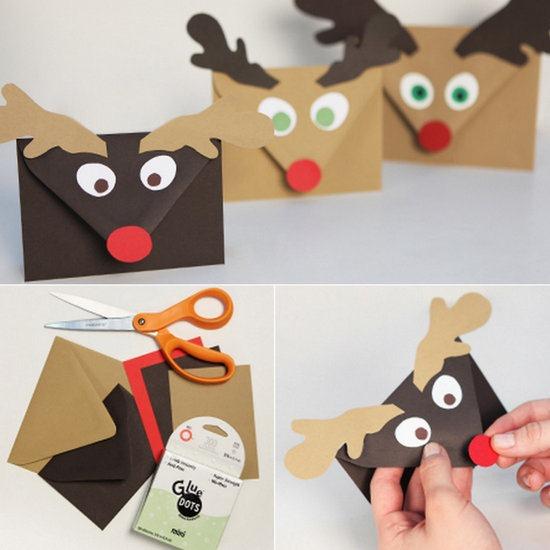 sobres para tus tarjetas de navidad