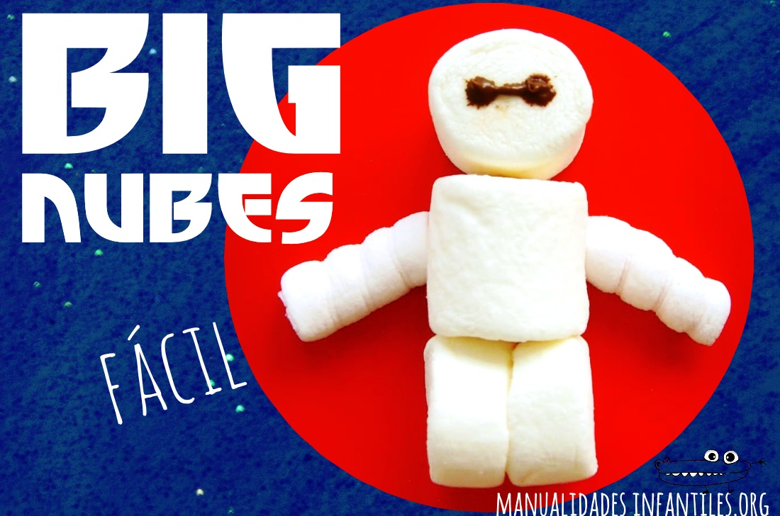 Receta Big Hero de nubes