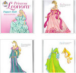 recortables de princesas
