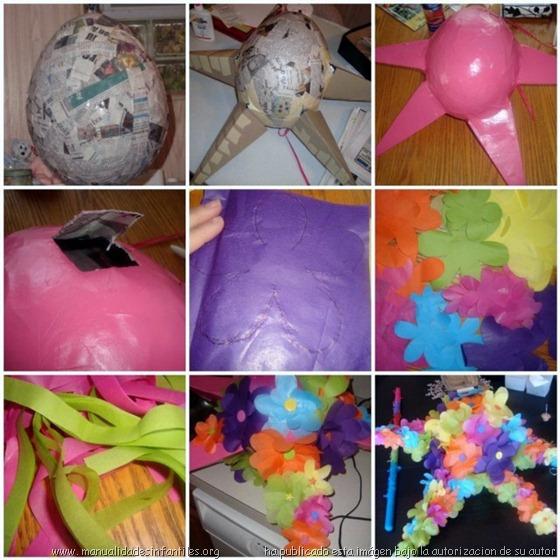como hacer una piñata mexicana